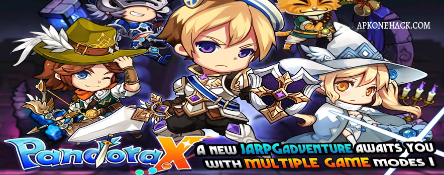 Pandora X Apk + MOD + OBB Data [Low Enemy Damage & HP] 1.0