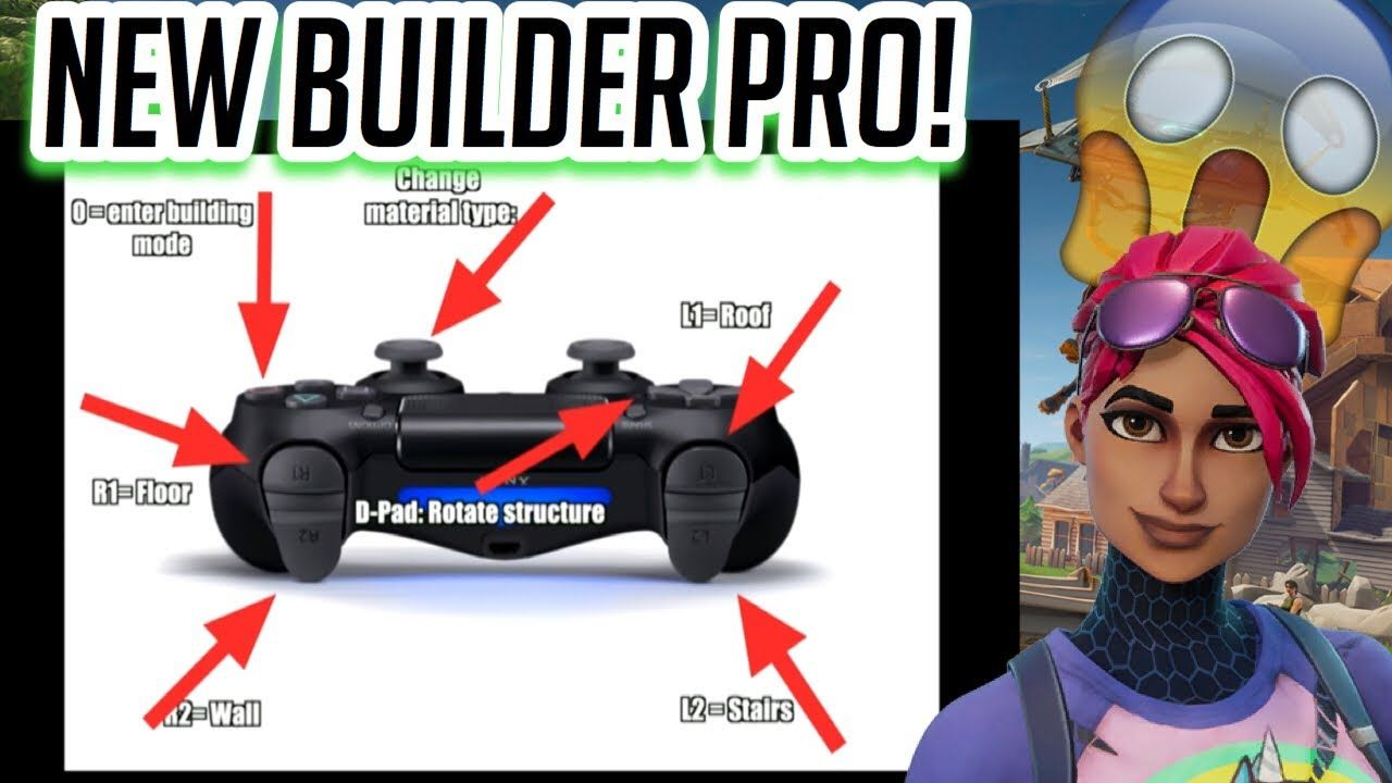 "NEW** CONTROLLER SETTING ""BUILDER PRO"" FOR CONSOLE!! BUILD LIKE PC"