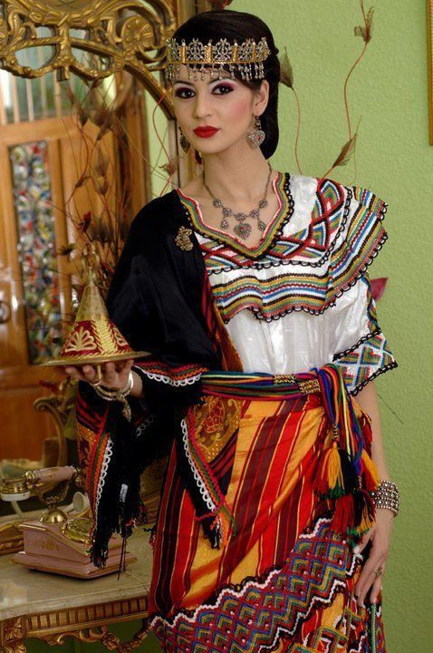 Algerian Culture T Shirt Picture Algerian Clothing Women