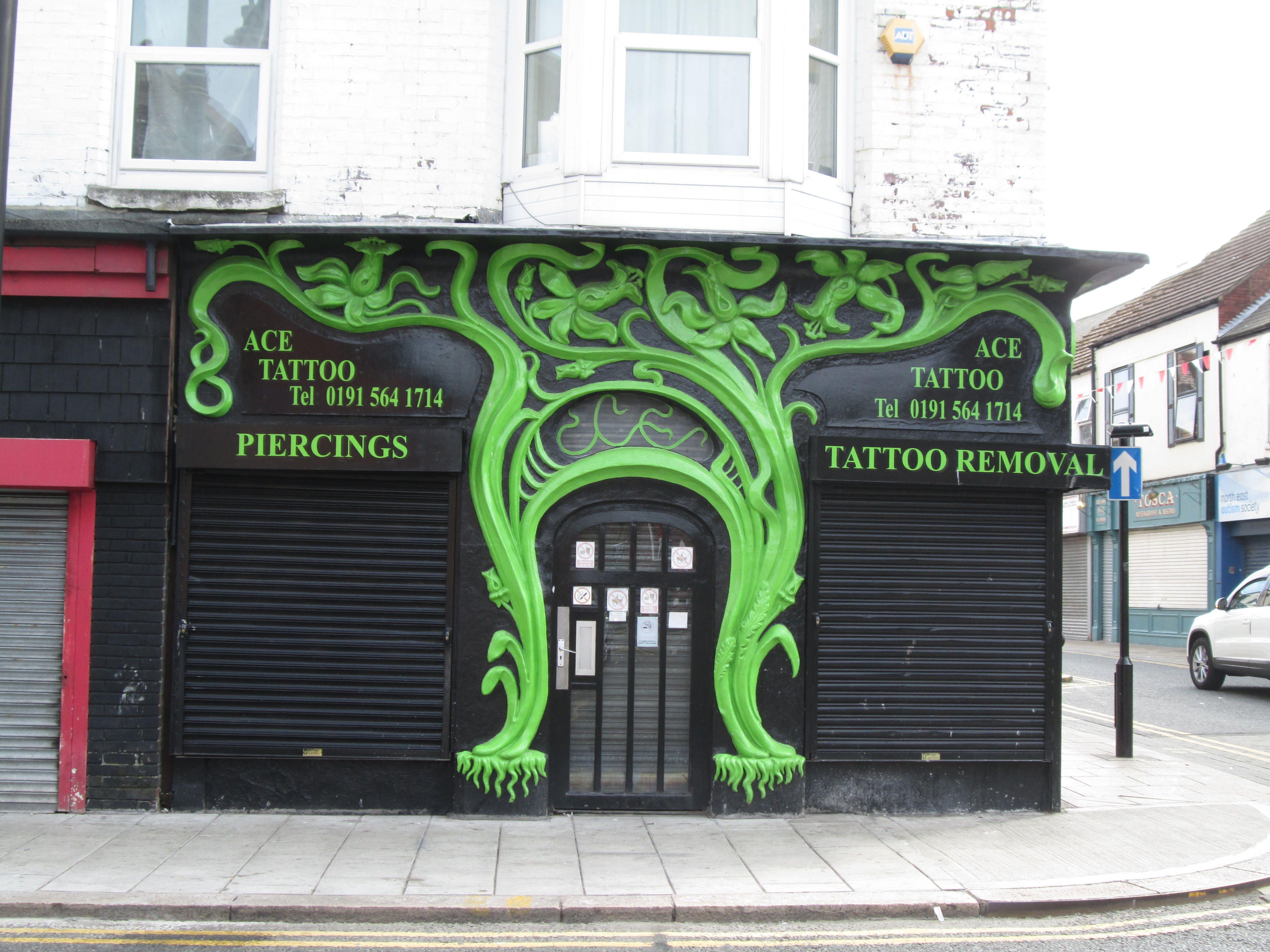 Ace Tattoo Ace Tattoo Outdoor Decor Tattoos