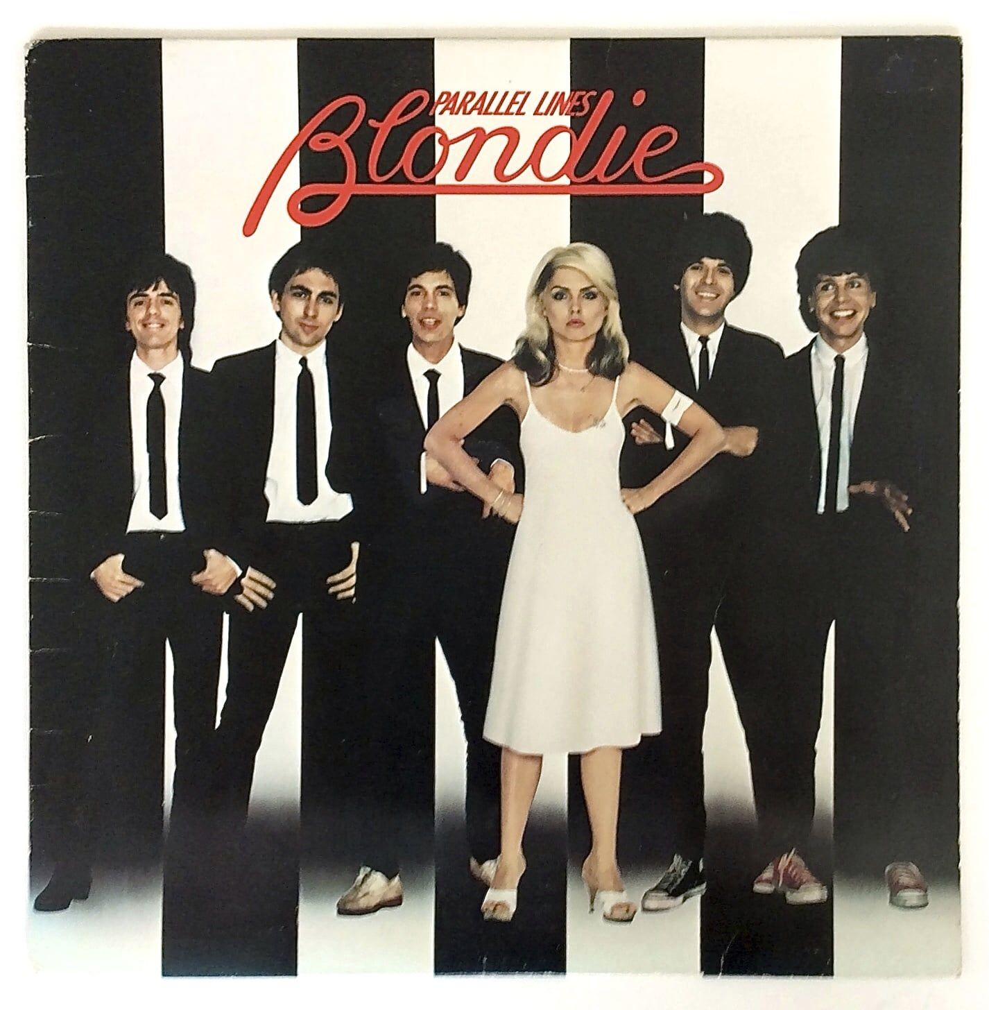 Blondie Parallel Lines Lp Iconic Album Covers Greatest Album Covers Blondie Albums