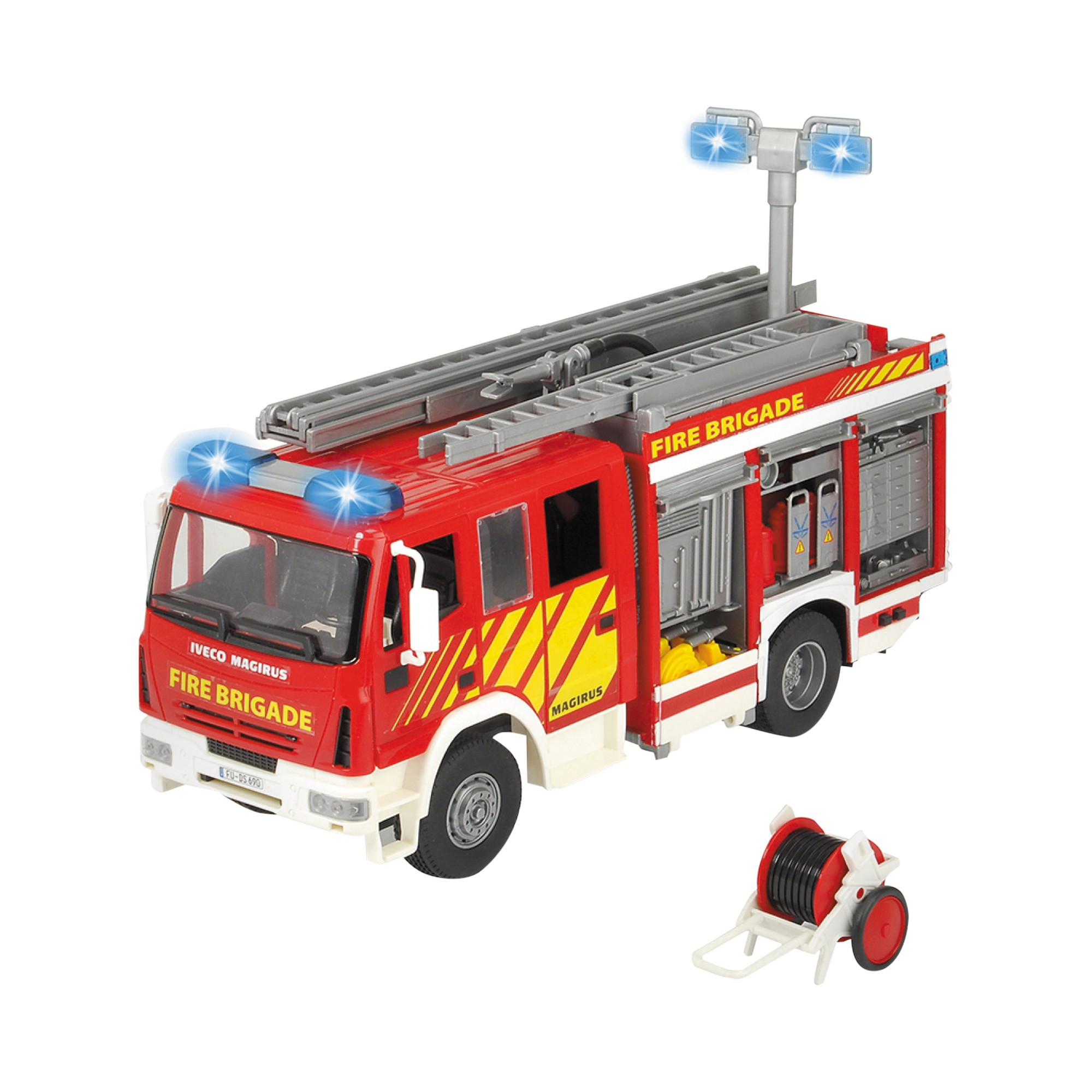 Dickie Toys - Iveco Fire Engine Lights and Sound | Products