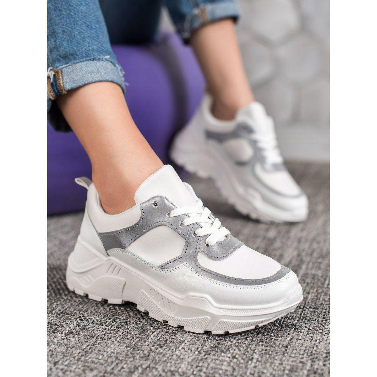 SHELOVET Klasyczne Białe Sneakersy in 2020 Saucony
