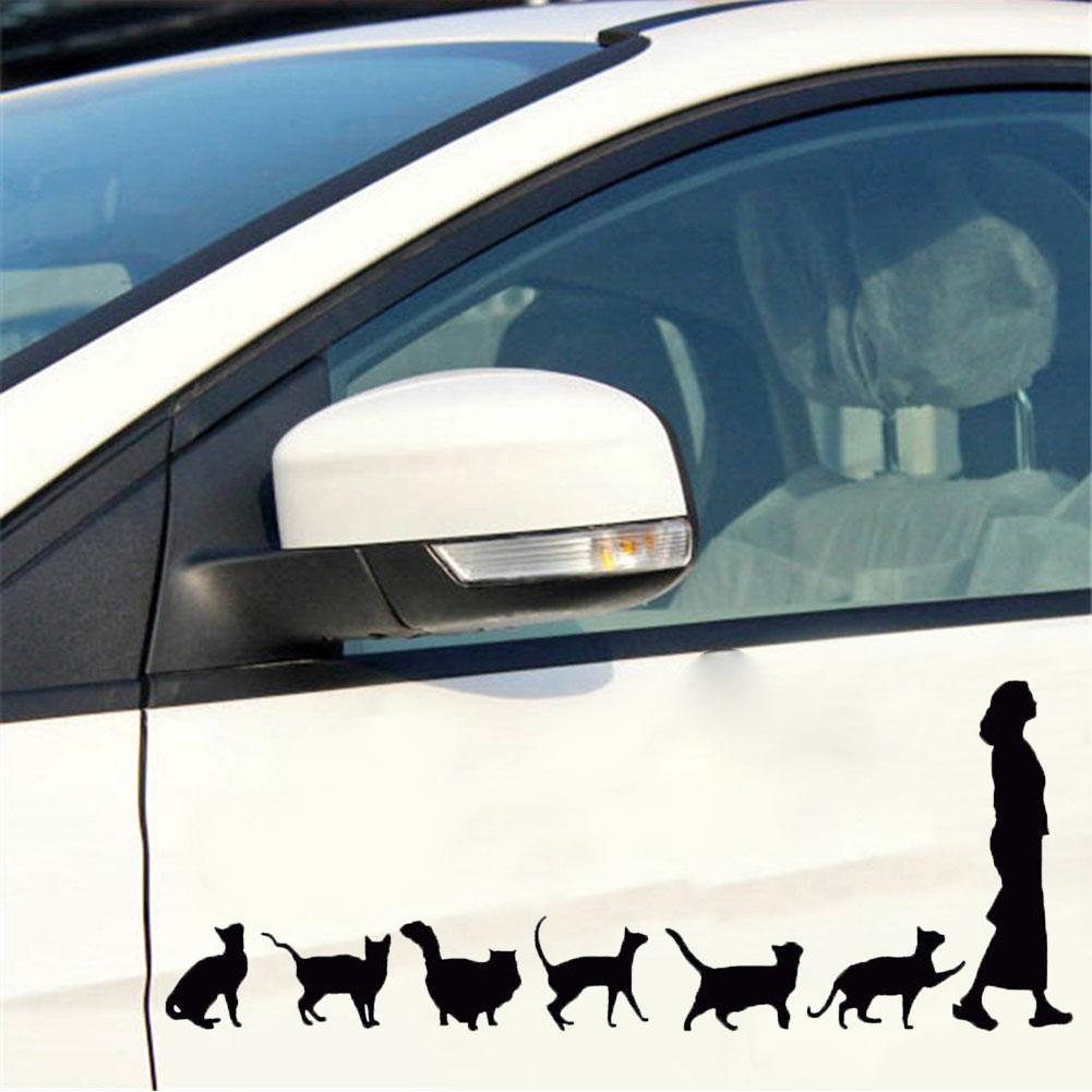 Funny Car Stickers Cat Lady Decor Car Auto Truck Window Decals Self Adhesive Vehicle Sticker Adesivo Carro Acessorios Para Carro In 2020 Crazy Cats Crazy Cat Lady Cat Lady [ 1001 x 1001 Pixel ]