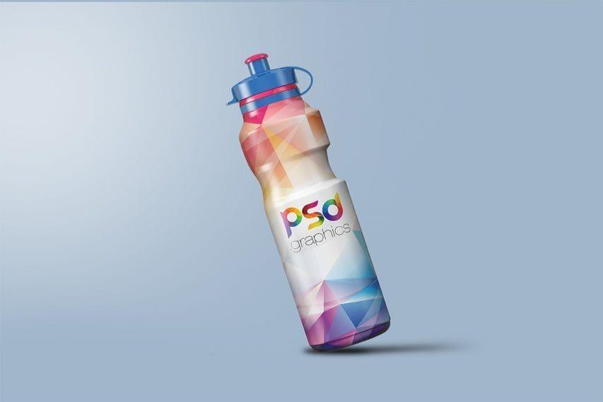 Download Sport Sipper Bottle Free Psd Mockups