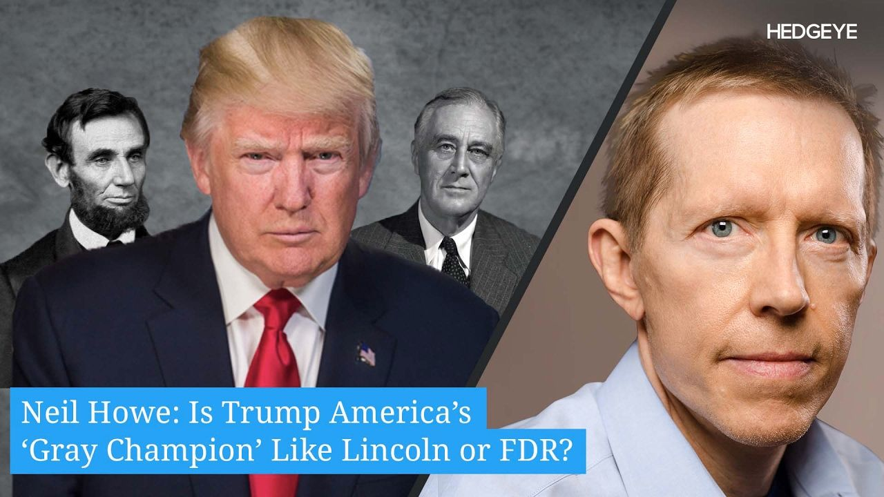 Neil Howe: Is Trump America's 'Gray Champion' Like Lincoln or FDR? [No way do I think Trump is the champion, the next potus will be, becau… | Fdr, Champion, America