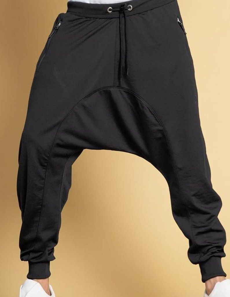 1415714be03f15 QL Drop Crotch Joggers Sirwal in Black in 2019 | Idei de încercat ...