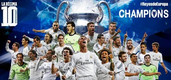 Η Ρεάλ Μαδρίτης πρωταθλήτρια Ευρώπης 2014- νίκησε την Ατλέτικο με 4-1 στην παράταση