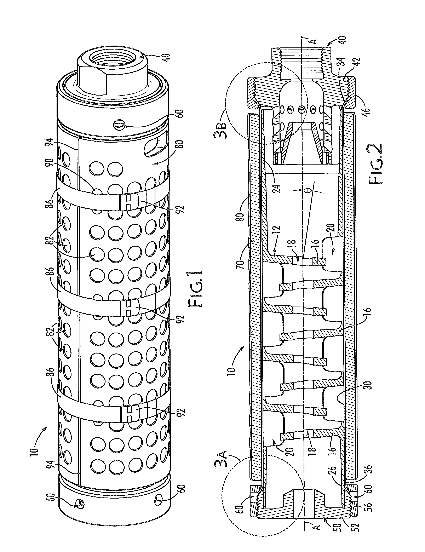 US20150136519A1 - Sound Suppressor for a Firearm - Google Patents ...
