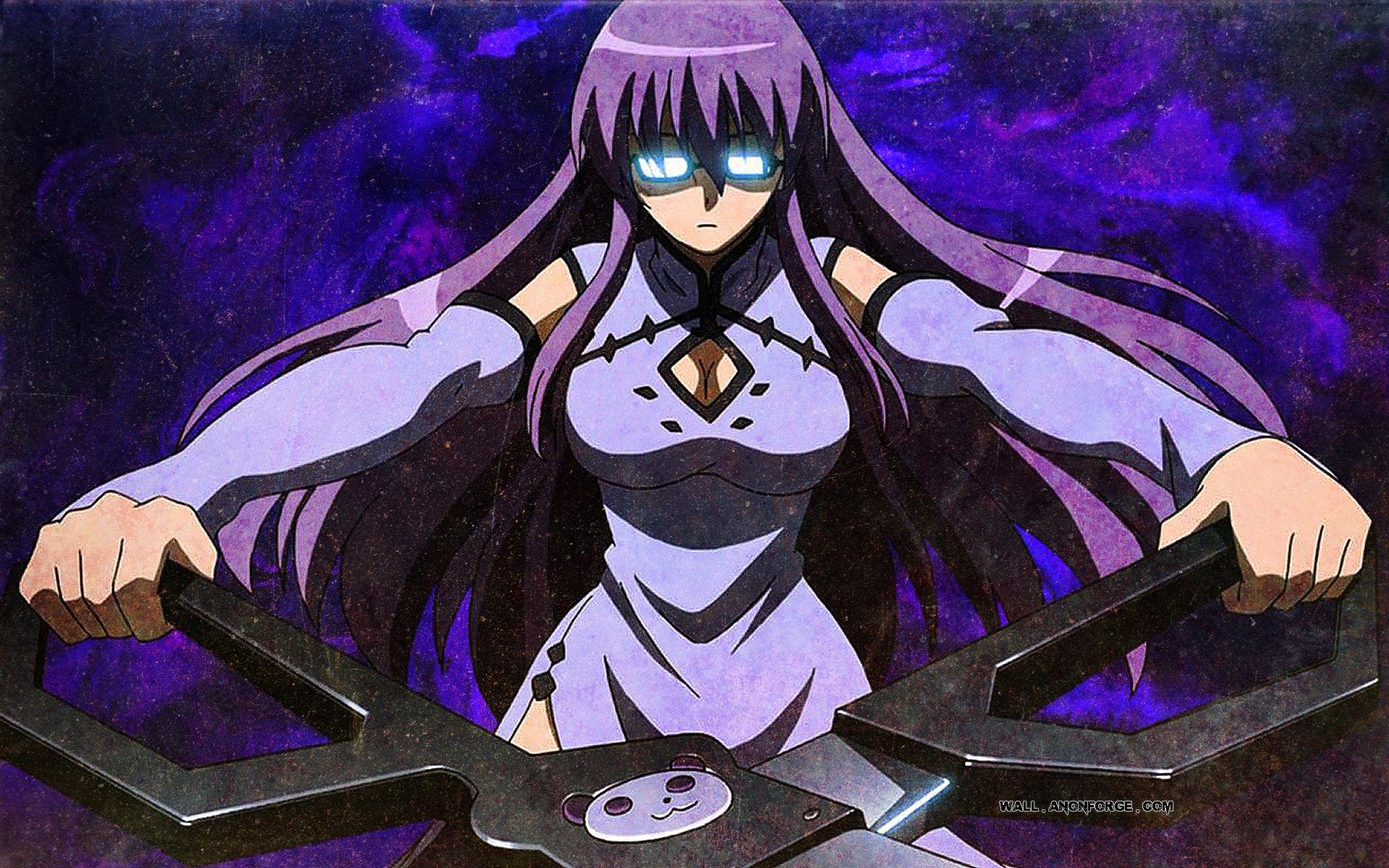 Akame Ga Kill Sheele Scissor High Resolution Anime Girl