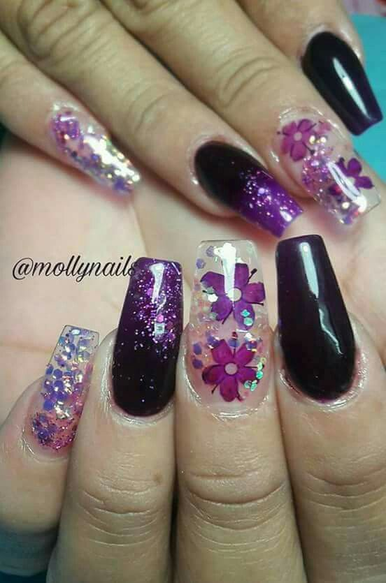 Short coffin nails Thank you for following my board Plis follow me ...
