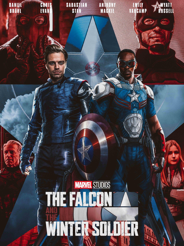 MDesign on Twitter | Falcon marvel, Winter soldier, Bucky barnes winter  soldier