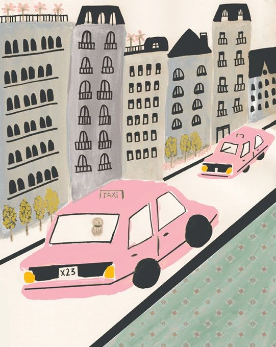 Playful Illustrations by Jana Glatt - ArtisticMoods.com