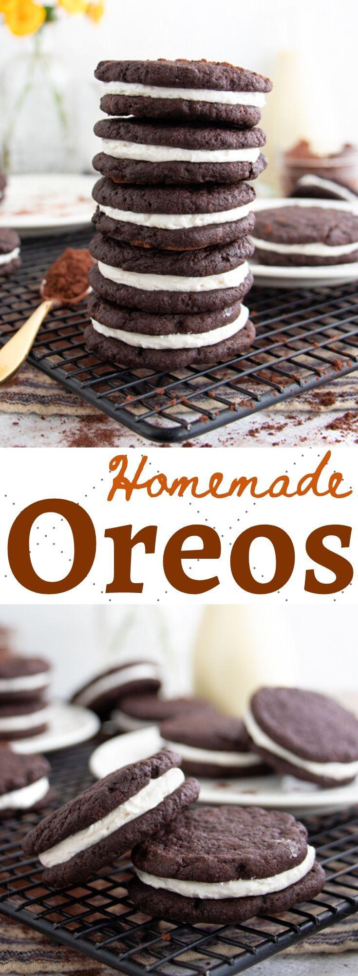 Homemade Oreo Recipe Plant Well Recipe In 2020 Vegan Cookies Recipes Oreo Recipes Healthy Vegan Desserts