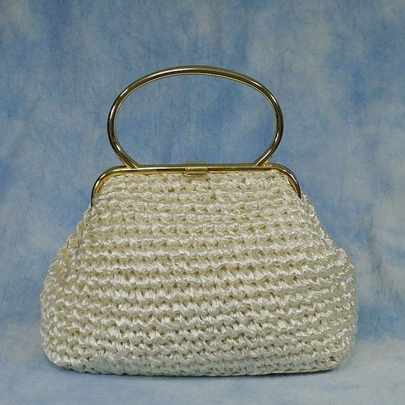7c78010b2c2 Vintage Ritter Italian Made Cream Raffia by MyVintageCocktail ...