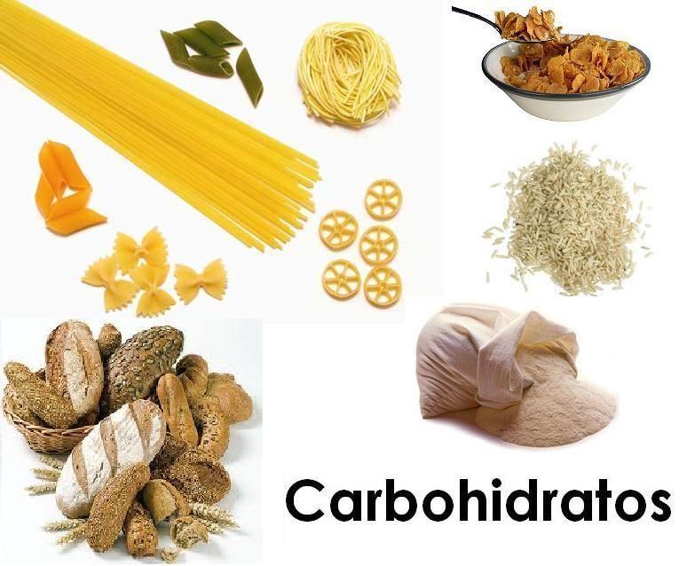 Dibujos y letras alimentos ricos en carbohidratos a cuidarnos pinterest - Que alimentos contienen carbohidratos ...