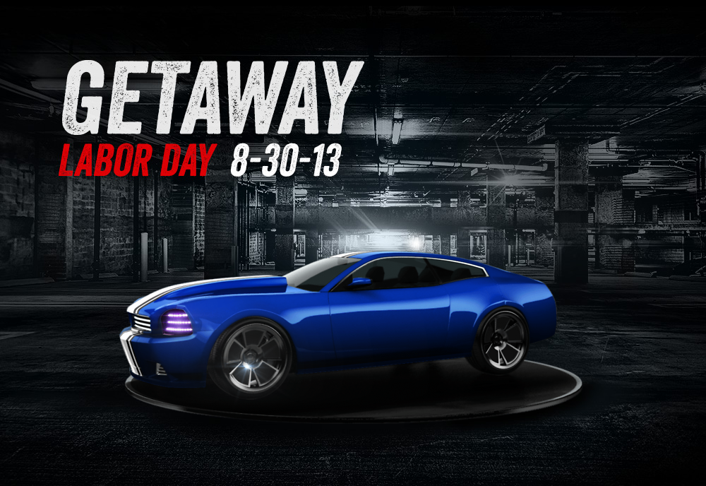 Check out my custom Getaway car I created using the Getaway Car Customizer!