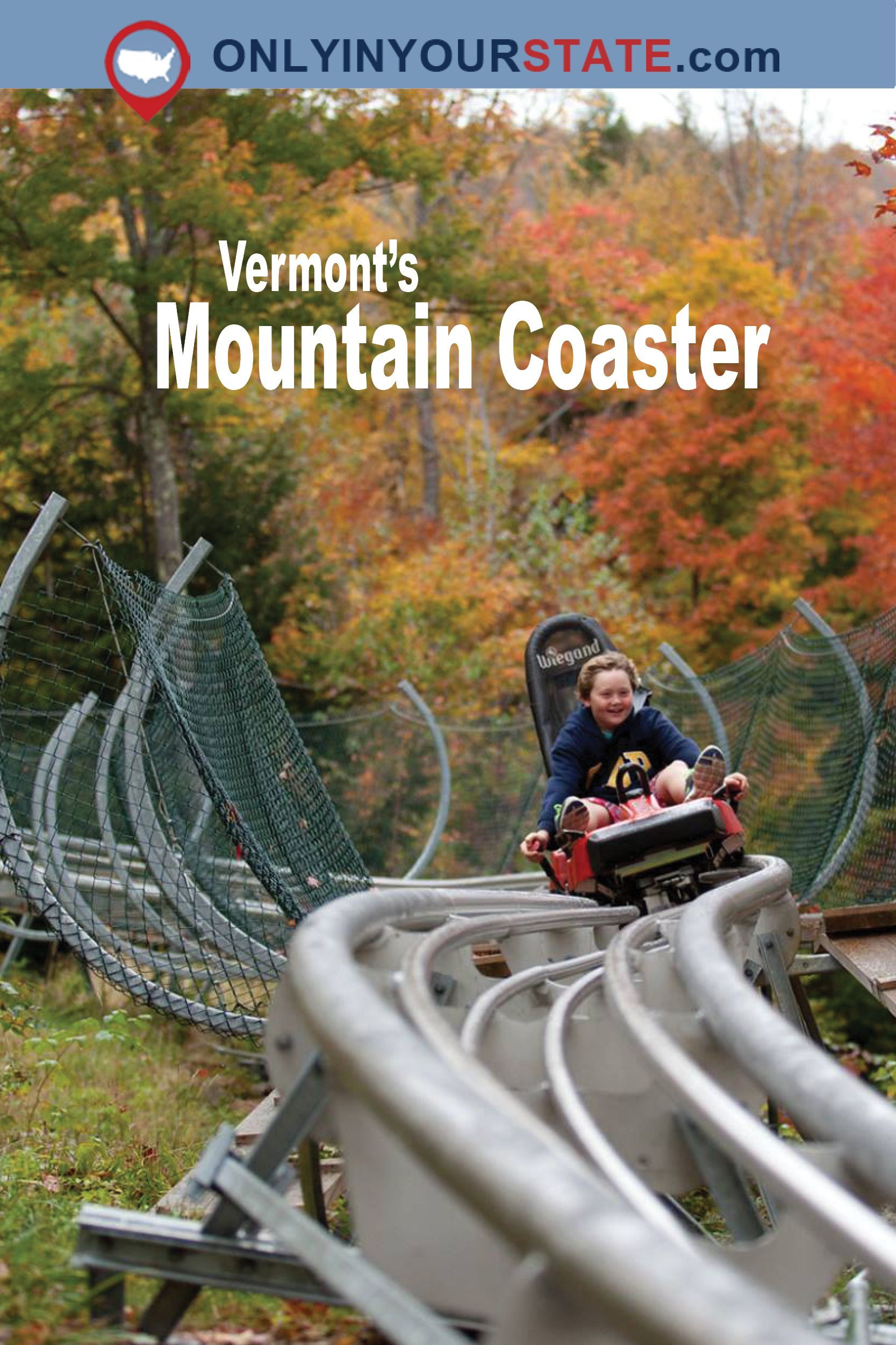 The Timber Ripper Mountain Coaster In Vermont Will Take You On A Thrilling Ride Vermont Vacation Fall Road Trip New England Travel