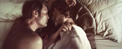 Like... Hannibal taking care of Will's 'nightmares' so he