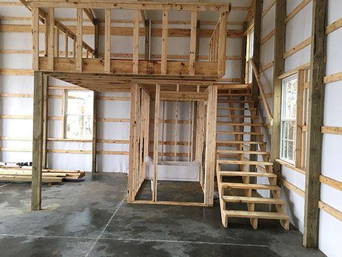 Pole Barn Mareno Construction Barn Loft Pole Barn Pole Barn
