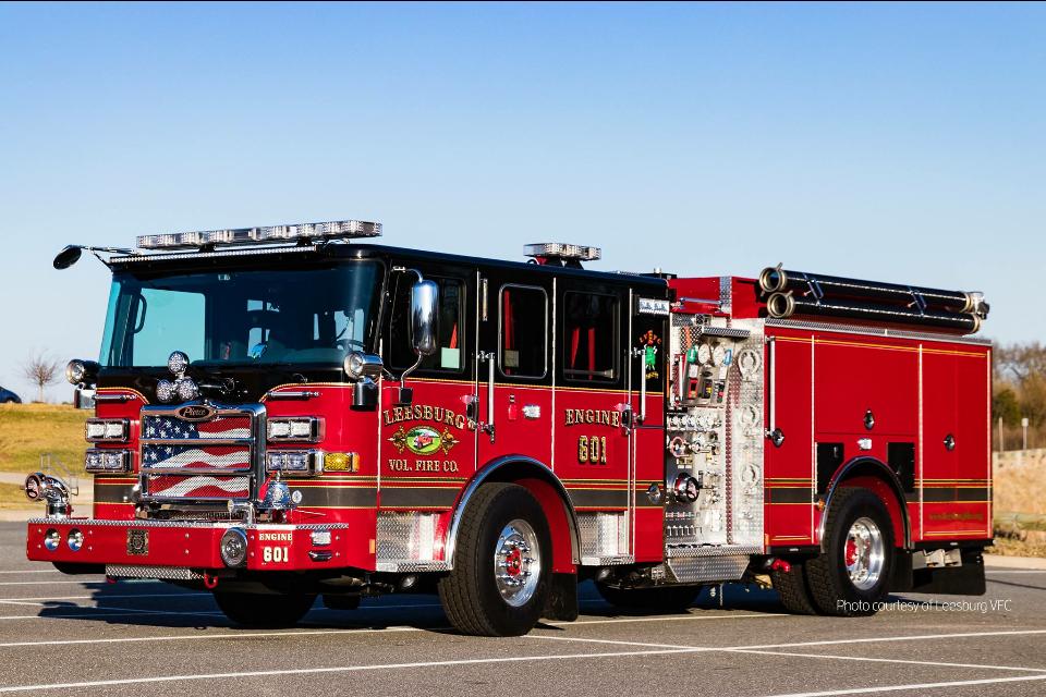 Leesburg Vol Fire Co Engine 601 Pierce Arrow Xt Pumper Fire