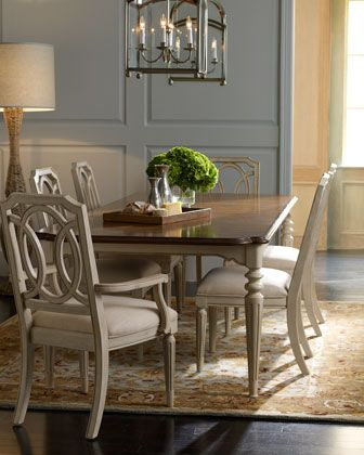 Loma Dining Room Furniture Traditional Dining Tables Dining