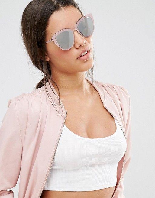 6d835ac1b6 Quay Australia super girl cat eye sunglasses