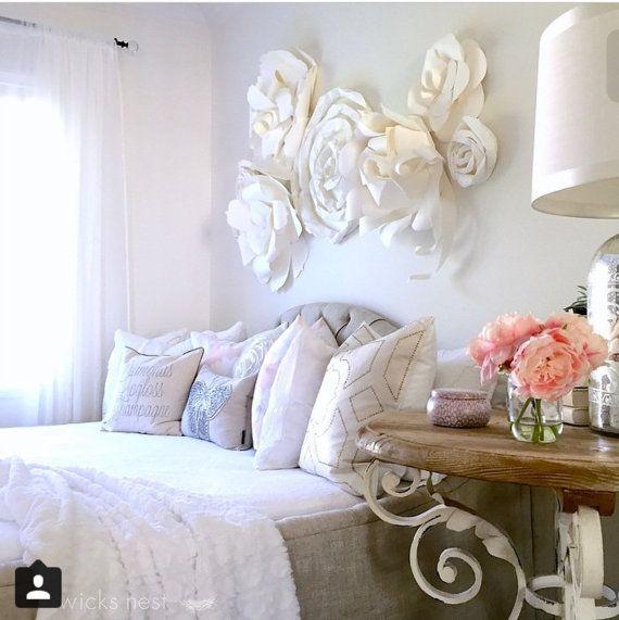 Best Beautiful Paper Flower Wall Arrangement By Fancifuldesign 640 x 480
