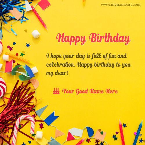 Pin By Krisa Kris On Bts Happy Birthday Name Birthday Card With Name Happy Birthday Messages