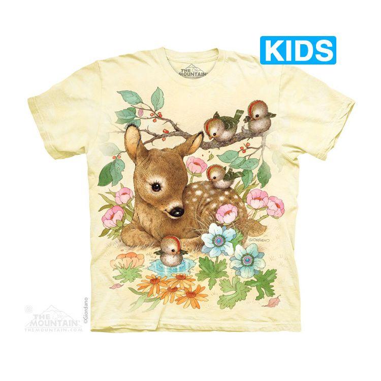 The Mountain Baby Doe Kids T-Shirt