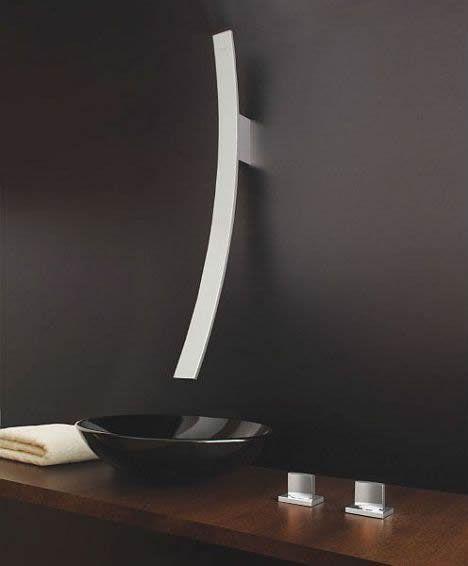 Nice minimalist sink + faucet