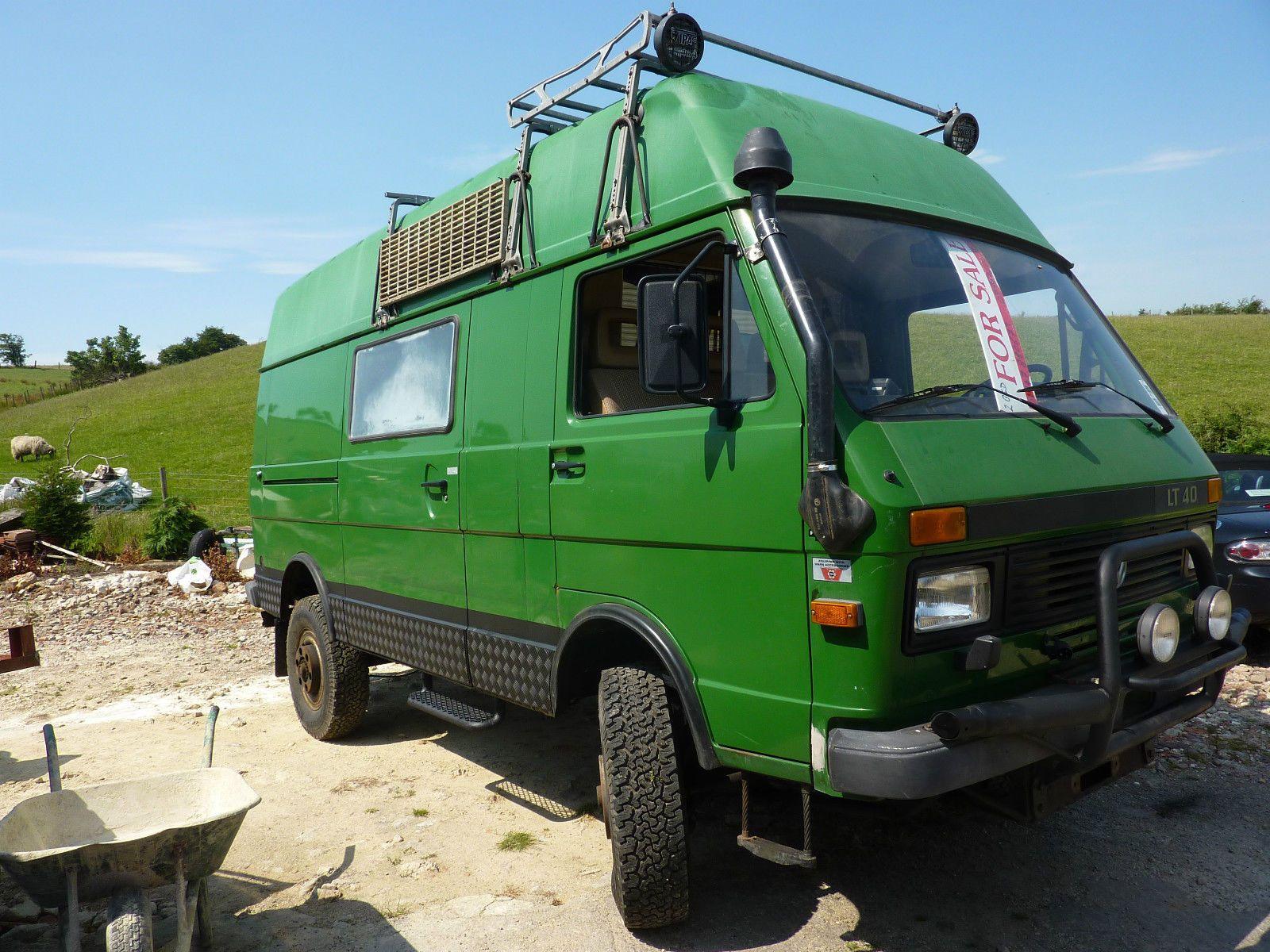 Vw Lt40 4x4 Camper автомобили кэмперы Vw 4x4 4x4 Van