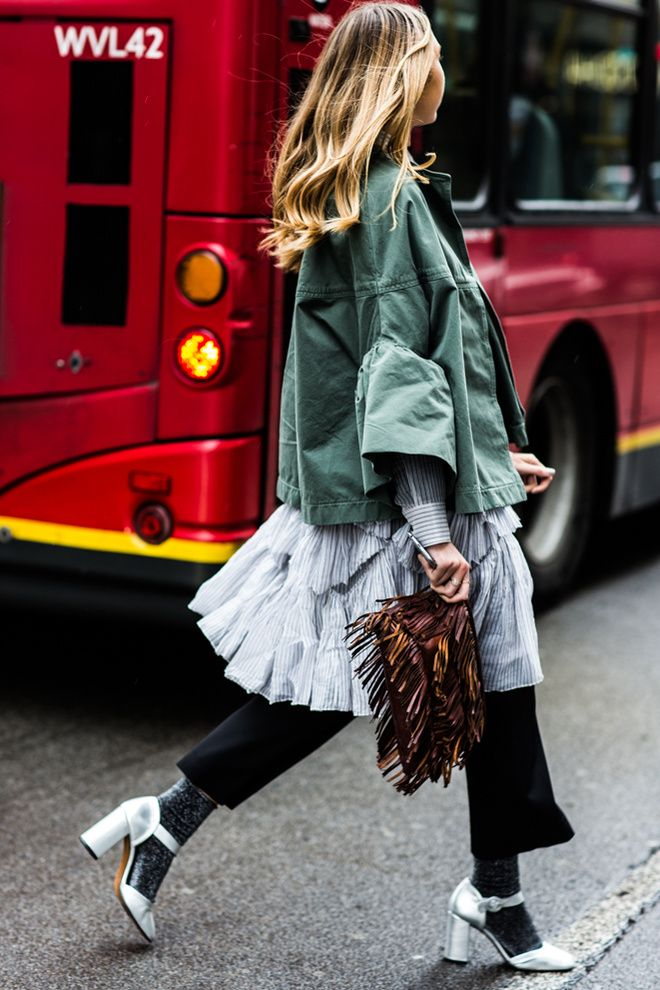 With London Fashion Week in full style swing, take a look at the best street looks spotted outside the shows. Photos by Sandra Semburg.