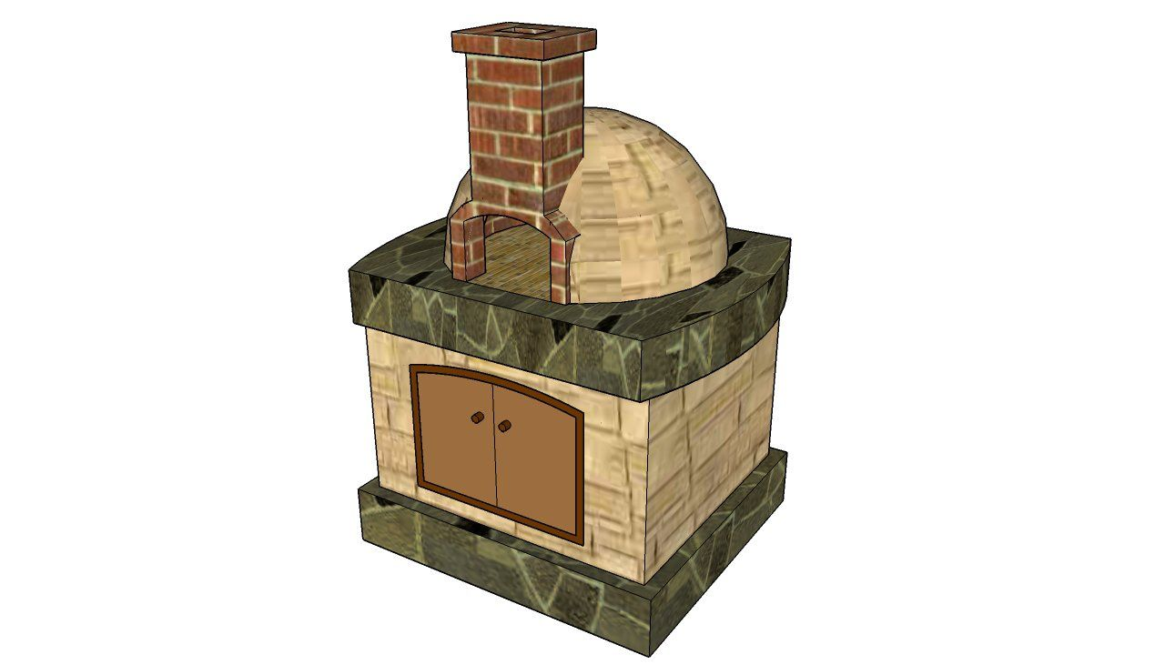 Pizza oven free plans | HowToSpecialist - How to Build, Step by ...