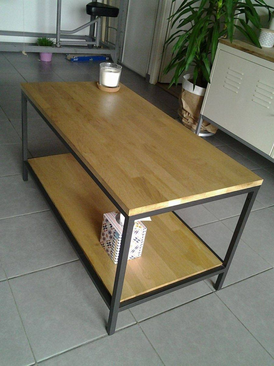 Vittsjo D'une Table VittsjöBasse Bois Ikea Transformation zpSGLMqUV