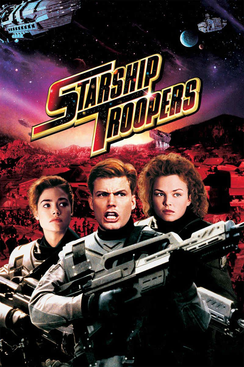 Starship Troopers 1997 Movie Tamil Dubbed Hd In 2020 Starship Troopers Starship Troopers 1997 Starship