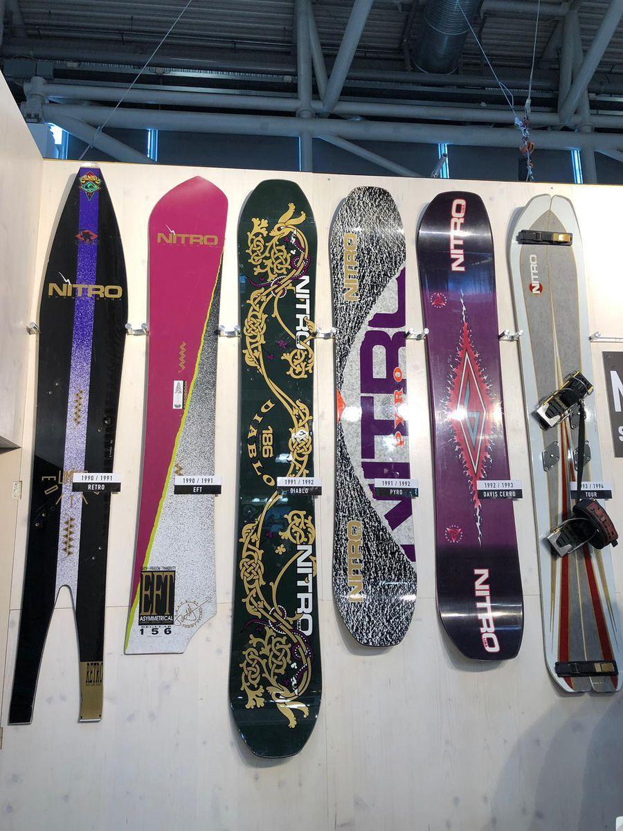 Ispo 2019 Nitro Snowboards Snowboarding Snowboard Boots Winter Hiking