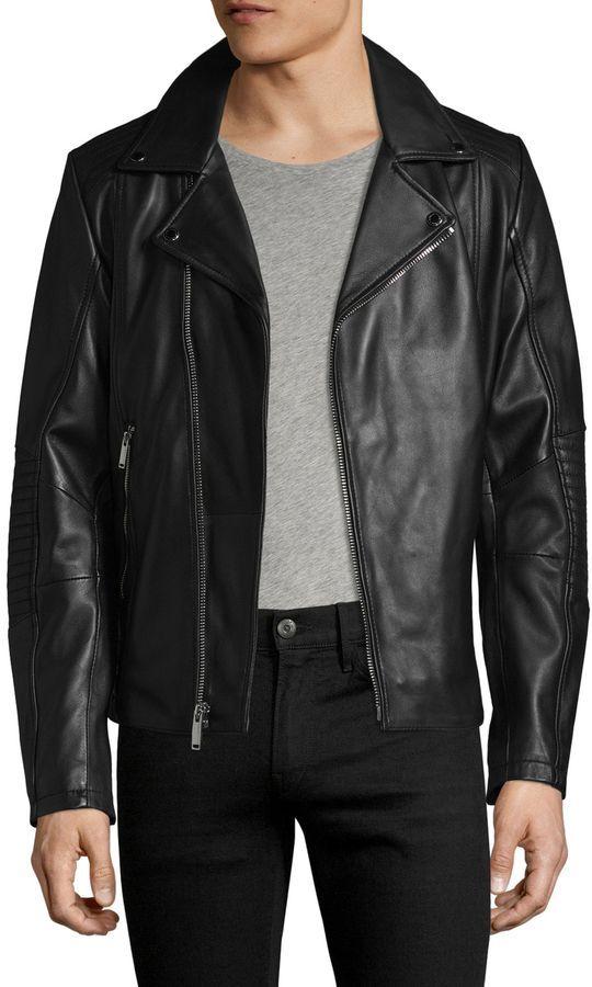 Karl Jacket Moto Pinterest Lagerfeld Men's Leather Products rRqvr0Ix