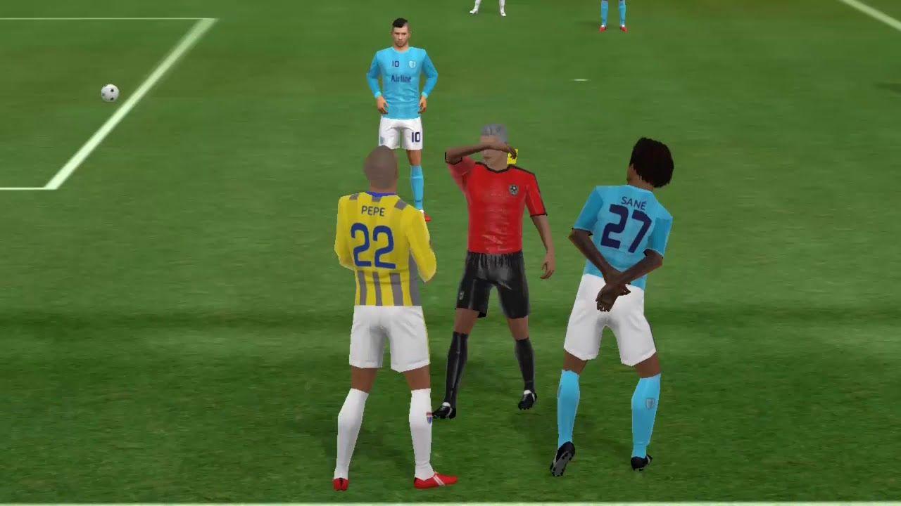 Man City 0 4 Juventus Match Dream League Soccer 2018 Gameplay 08 Soccer League Soccer Field