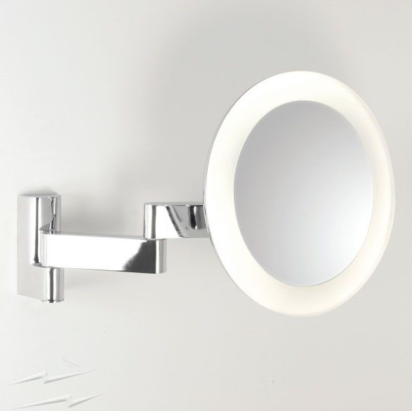 Led Bathroom Lights Ip44 astro 0760 niimi round led bathroom vanity mirror light ip44 5.7w