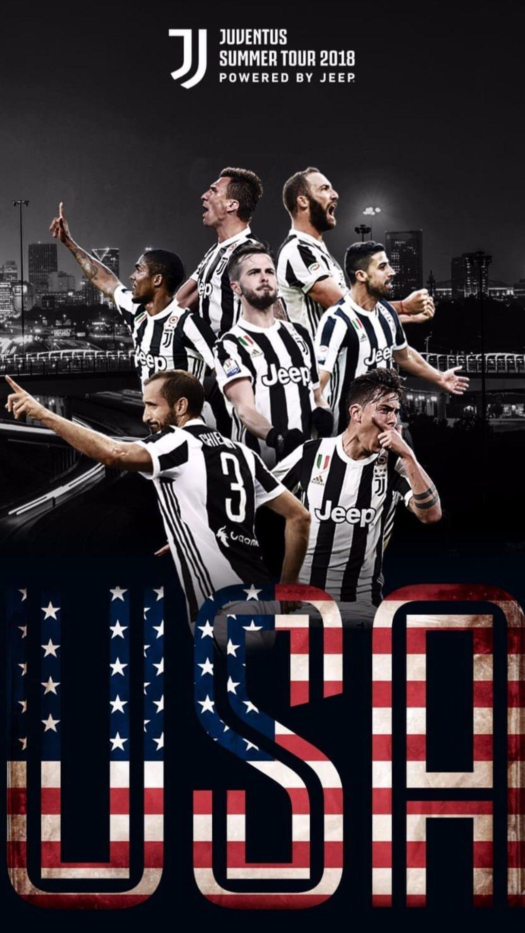 Juventus Summer Tour 2018 Usa Juventus Juventus Calcio Calciatori