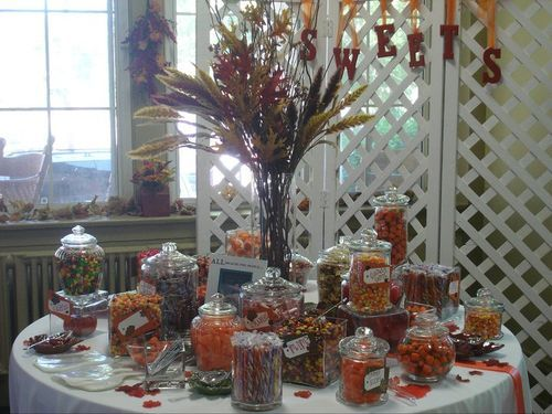 Sweet Fall Candy Buffet