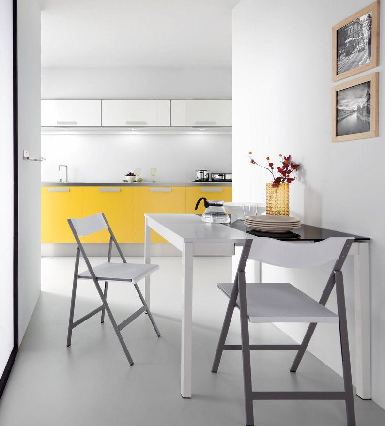 Mesa de cocina extensible cristal - Mesa de cocina extensible ...