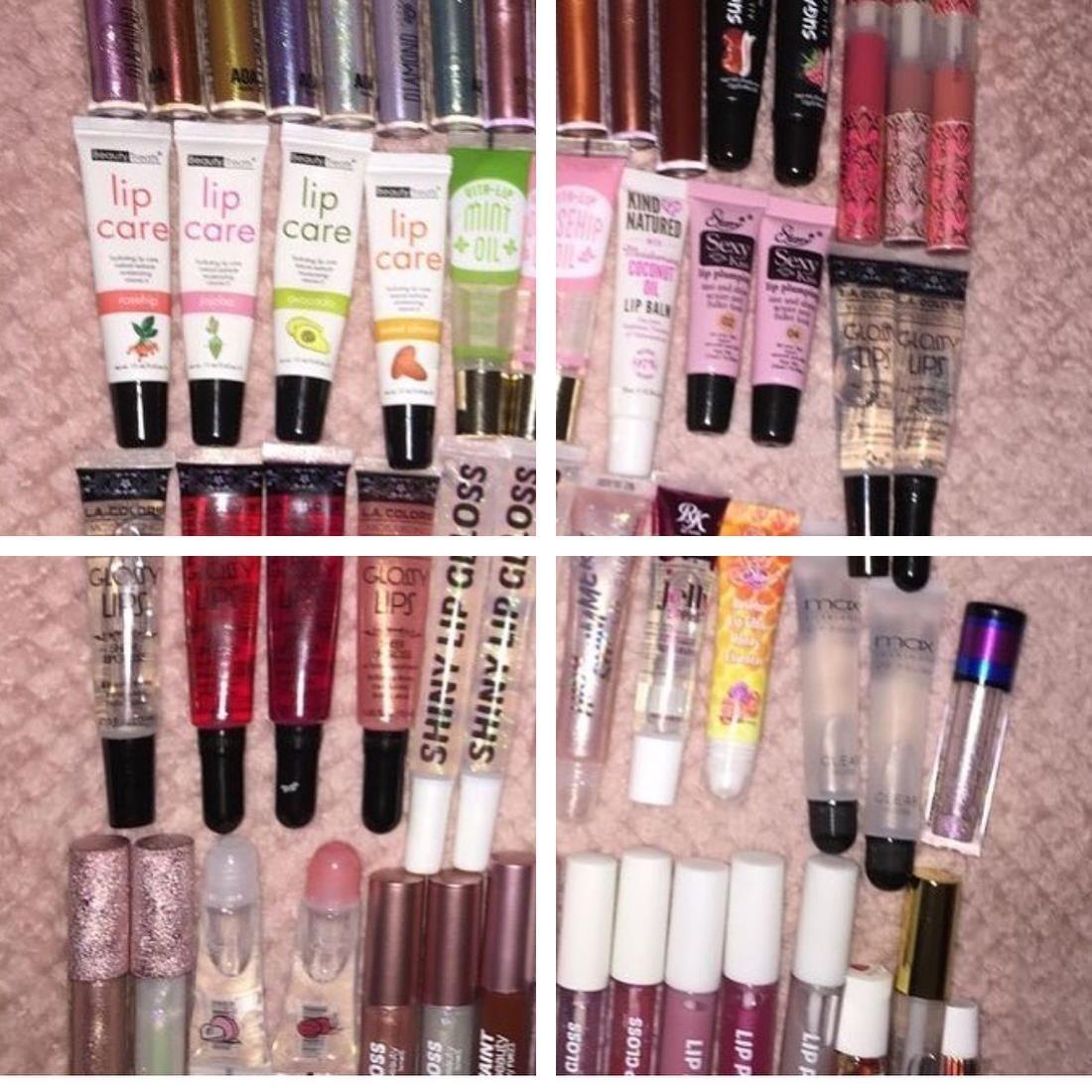 Red Lipstick Bright Blue Lipstick Famous Lipstick