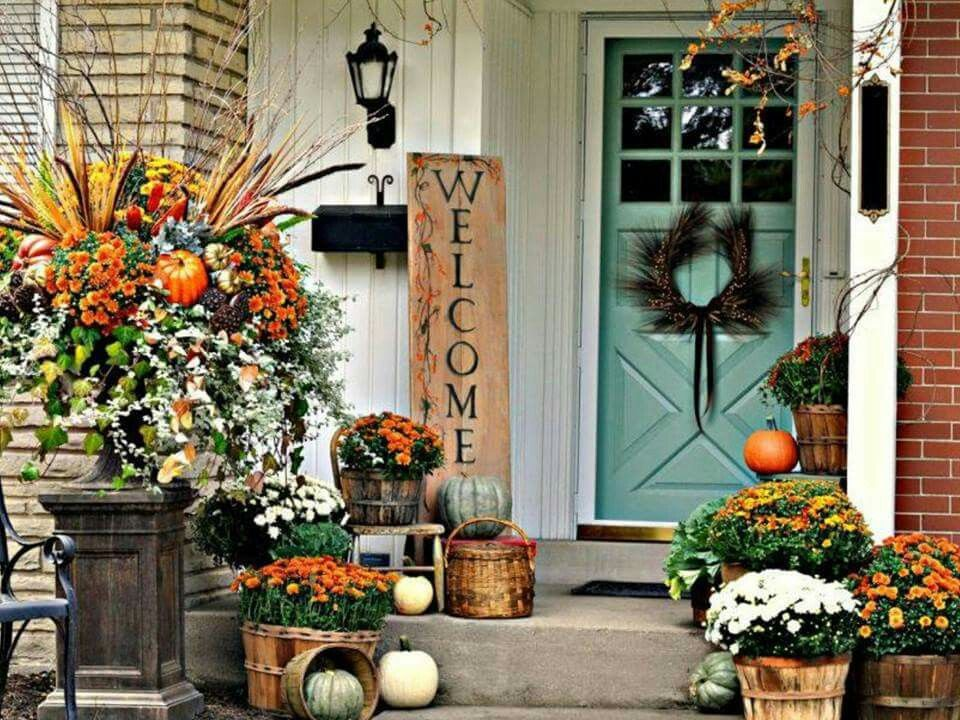 Get Ready To Fall For Fall! Bid Summer Adieu And Add Some Real Pizzazz To  Your Front Porch Or Yard With These Outdoor Decorating Tips And Ideas.