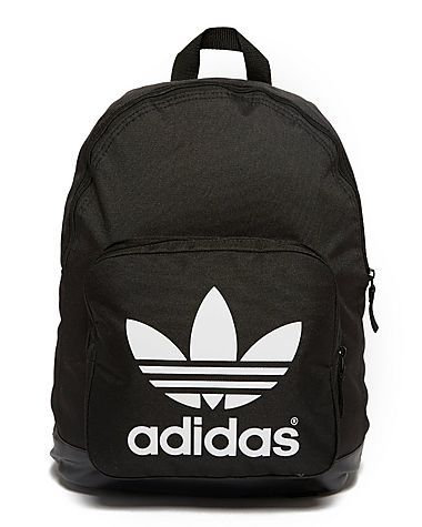 Backpack as a teen: He loves the brand adidas so you and Ashton bought him