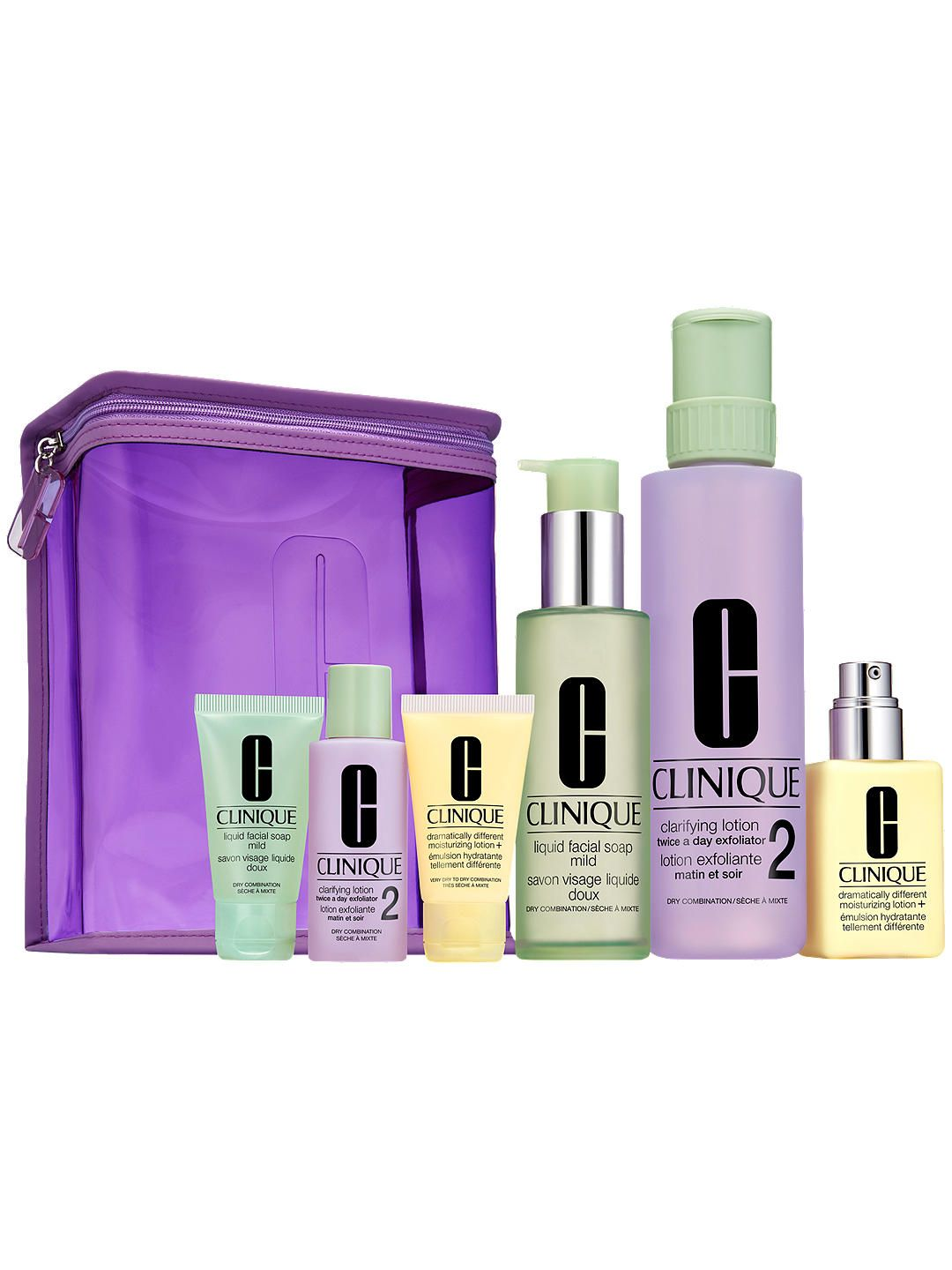 Clinique Great Skin Home and Away Christmas Gift Set