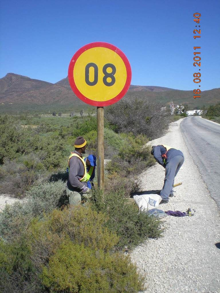 Oops sign the wrong way South Africa credit not
