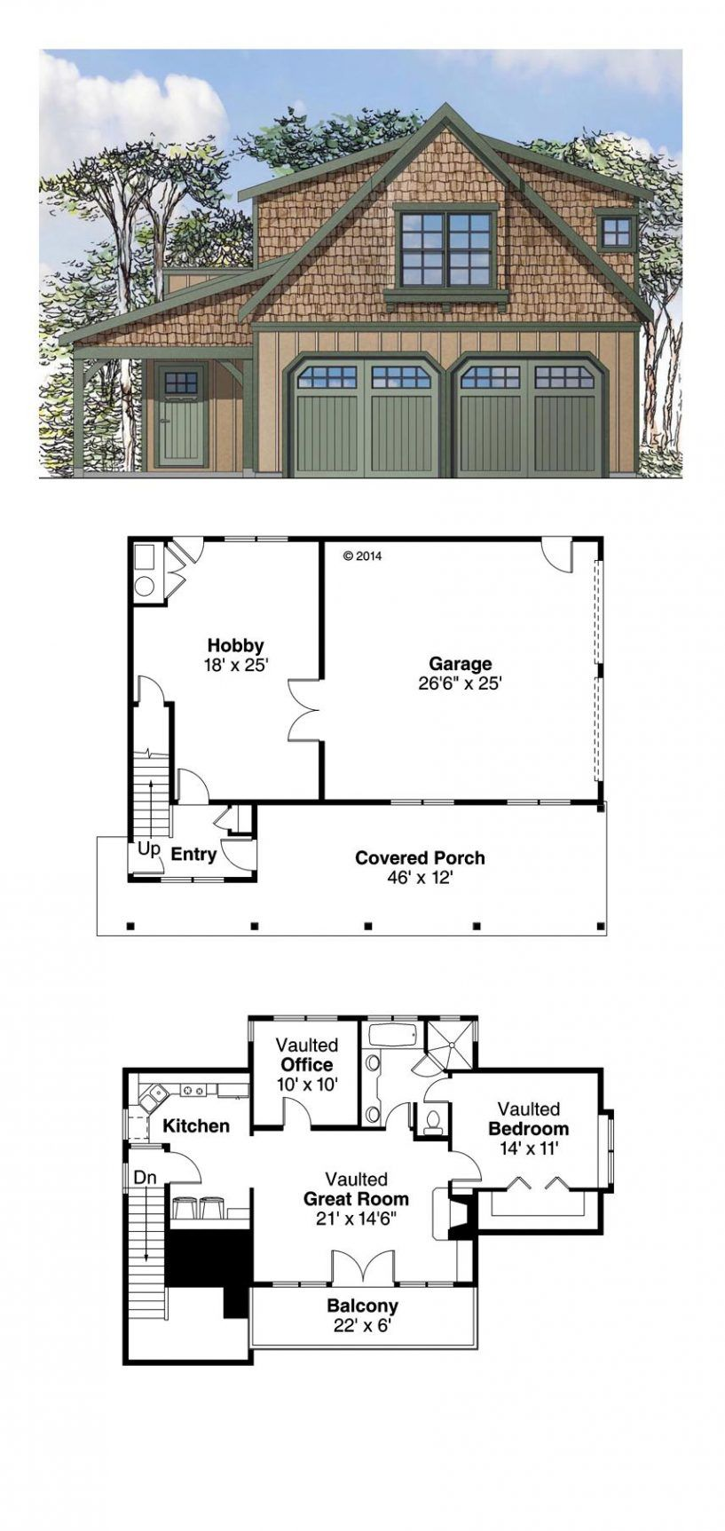 2 Bedroom Apartment Above Garage Plans 4 car garage house