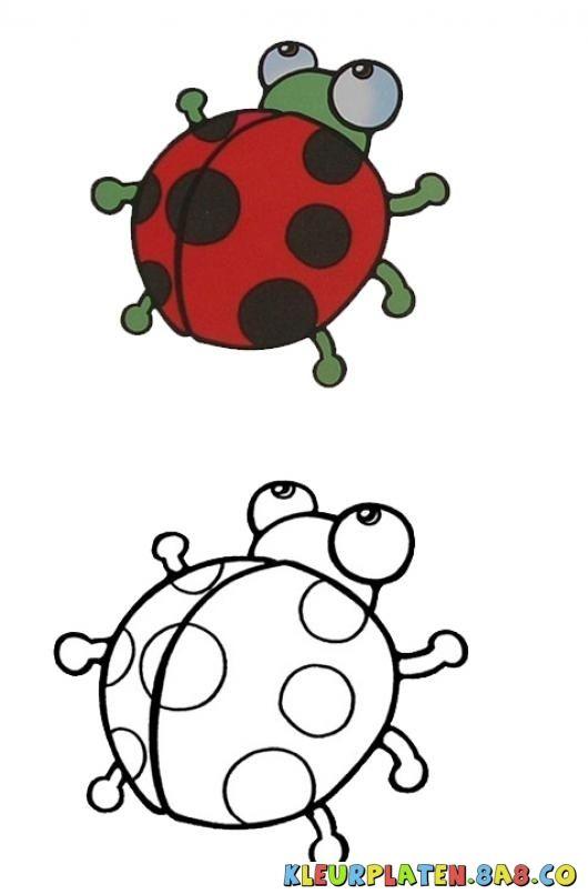 Lieveheersbeestje Eindmonster Kleurplaten Kleurplaten Met
